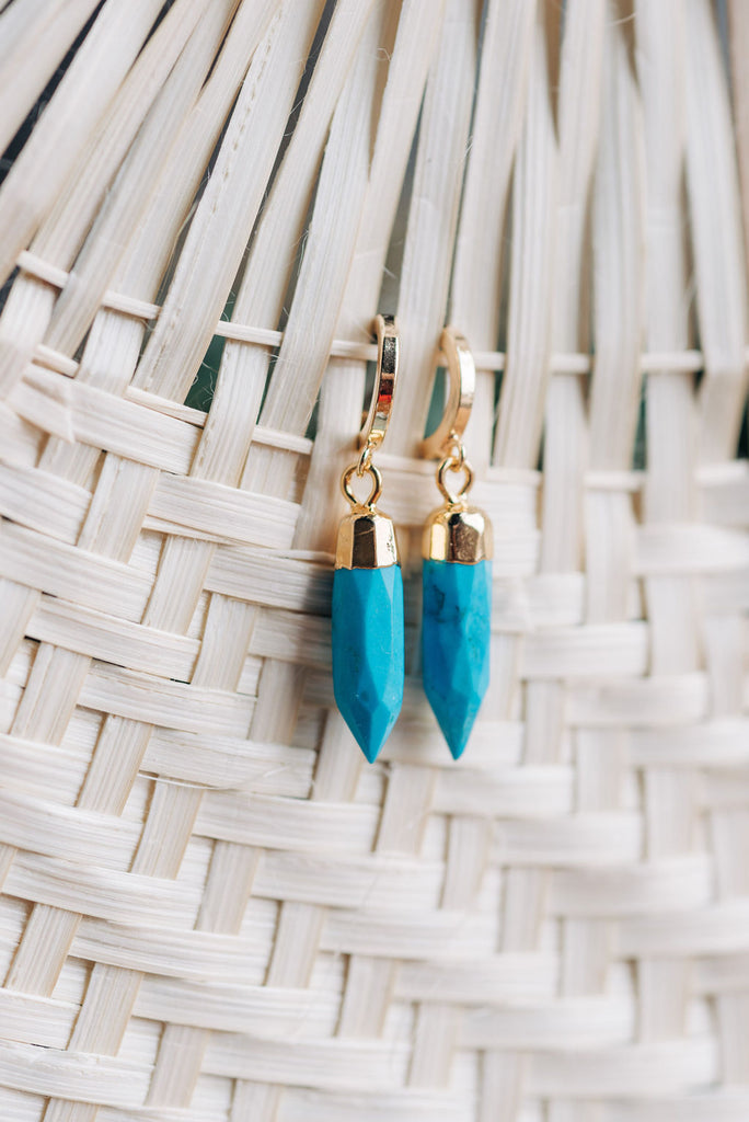 Lagos Spike Earrings by Kelmari