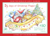 Jane F. Hankins Christmas Coloring Book