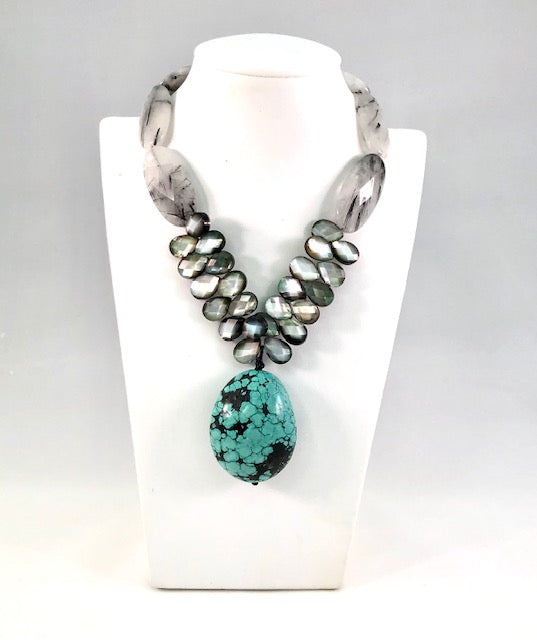 Rae Ann Bayless Turquoise Necklace