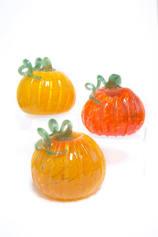 James Hayes Glass Pumpkin