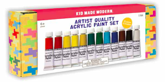 Kid Made Modern Artist Quality Acrylic Paint Set