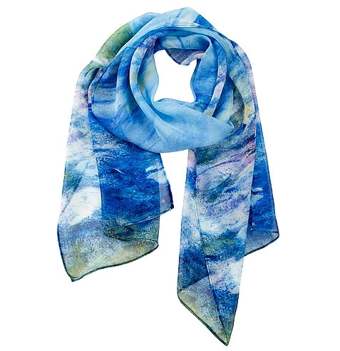 Monet Waterlilies Scarf
