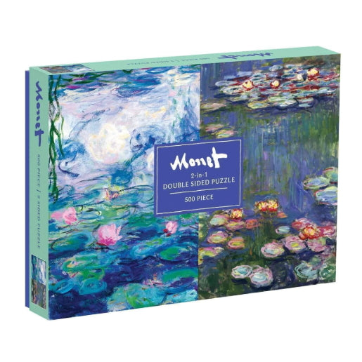 Monet Double-Sided Puzzle