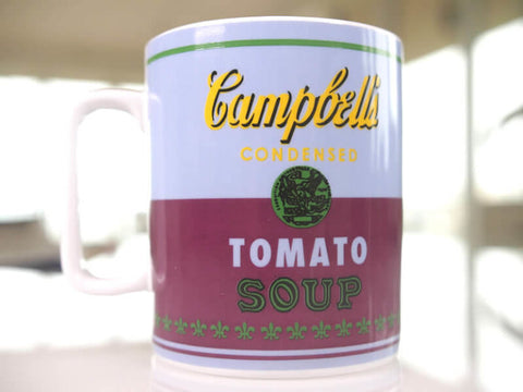 Andy Warhol Mug - Campbell's Soup Can