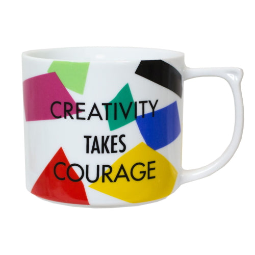 Creativity Takes Courage Mug