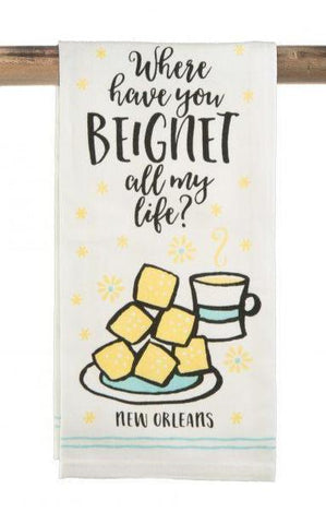 Beignet Kitchen Towel