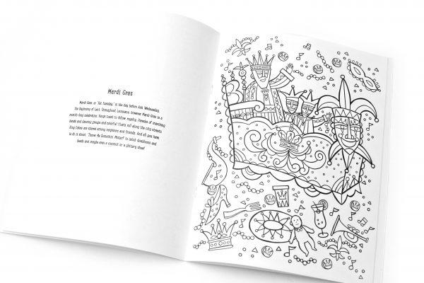 New Orleans Coloring Book