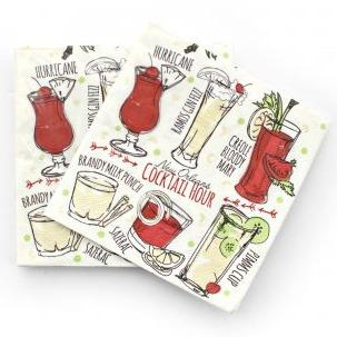 Cocktail Napkins – Cocktail Hour