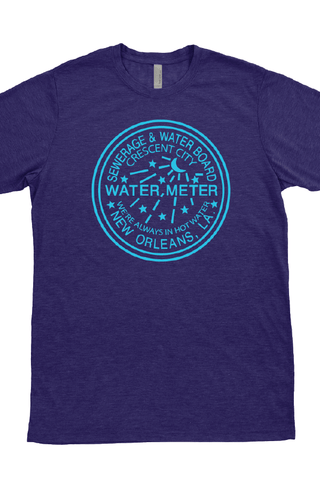 NOLA Water Meter T-Shirt