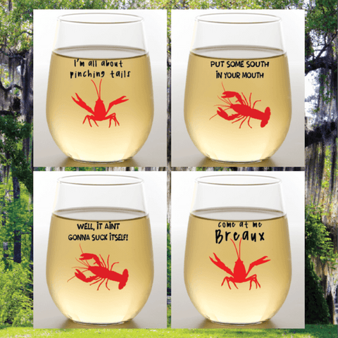 CRAWFISH – Shatterproof Geaux Cups