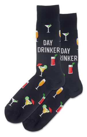 MEN'S DAY DRINKER CREW SOCKS