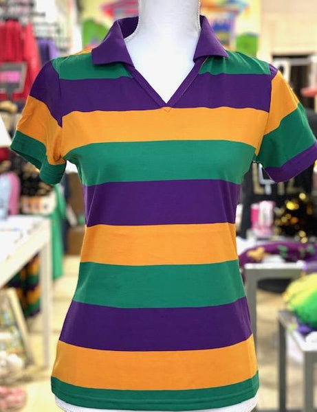 Ladies Mardi Gras Polo