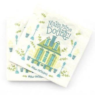 Cocktail Napkins – Make Mine a Double