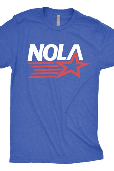 NOLA Star T-Shirt - New Orleans 4th of July Shirts