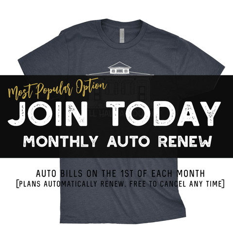 *SIGN UP - T-SHIRT OF THE MONTH CLUB!