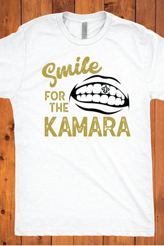 Smile for the Kamara