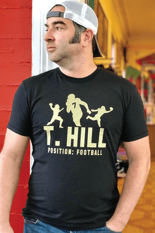 **Taysom Hill: Football Shirt