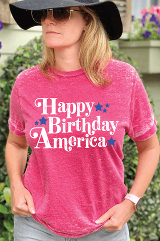 Happy Birthday America T-Shirt