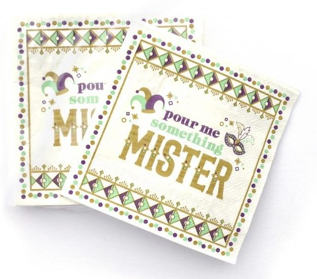 Cocktail Napkins – Pour Me Something Mister