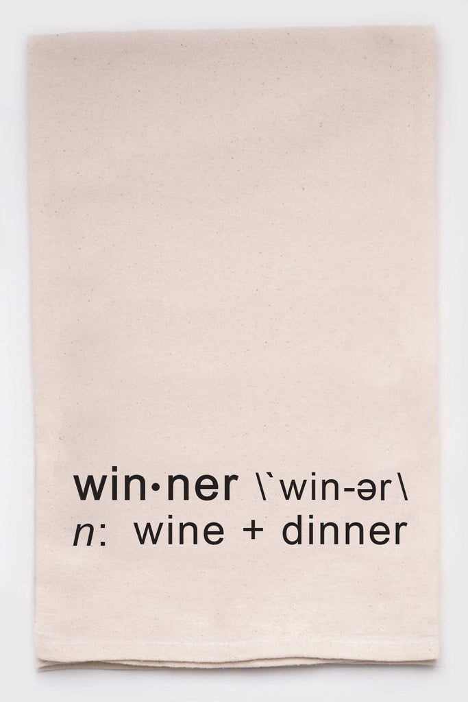 Winner Dinner Towel