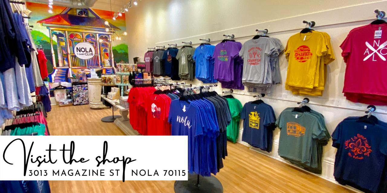 NOLA-Inspired Graphic Tees