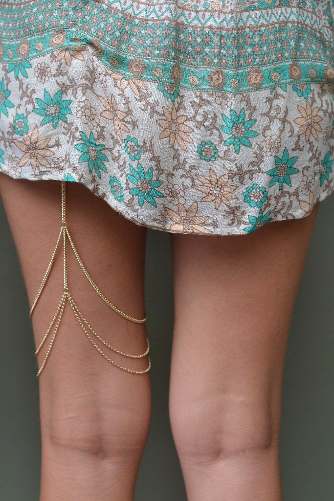 Bella Leg Chain