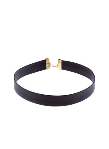 Dusty Suede Choker - Tan
