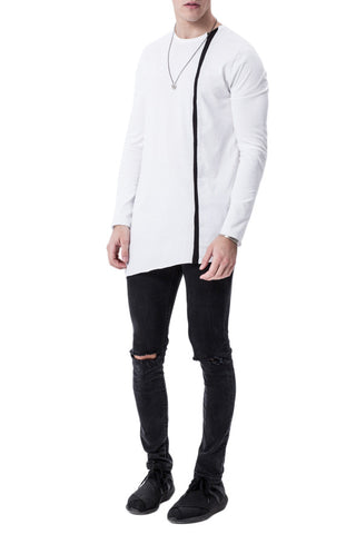 Asymmetric Zip Up