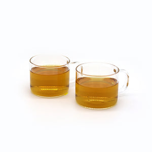 Hand-blown Tea Cups (Set of 2)