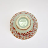 Double Walled Hand Painted Teacup