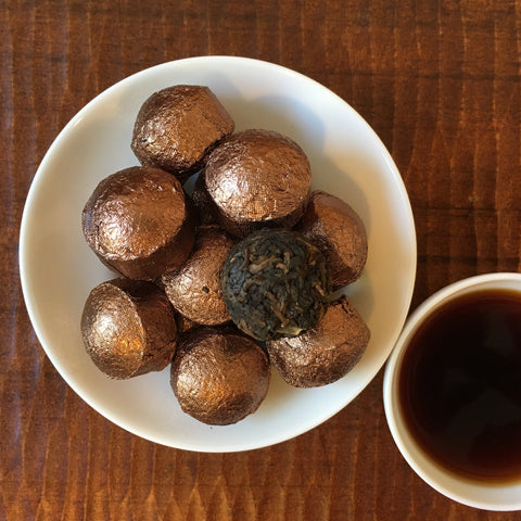 Sweet Rice Tuocha Shu Special Lot Pu-Erh