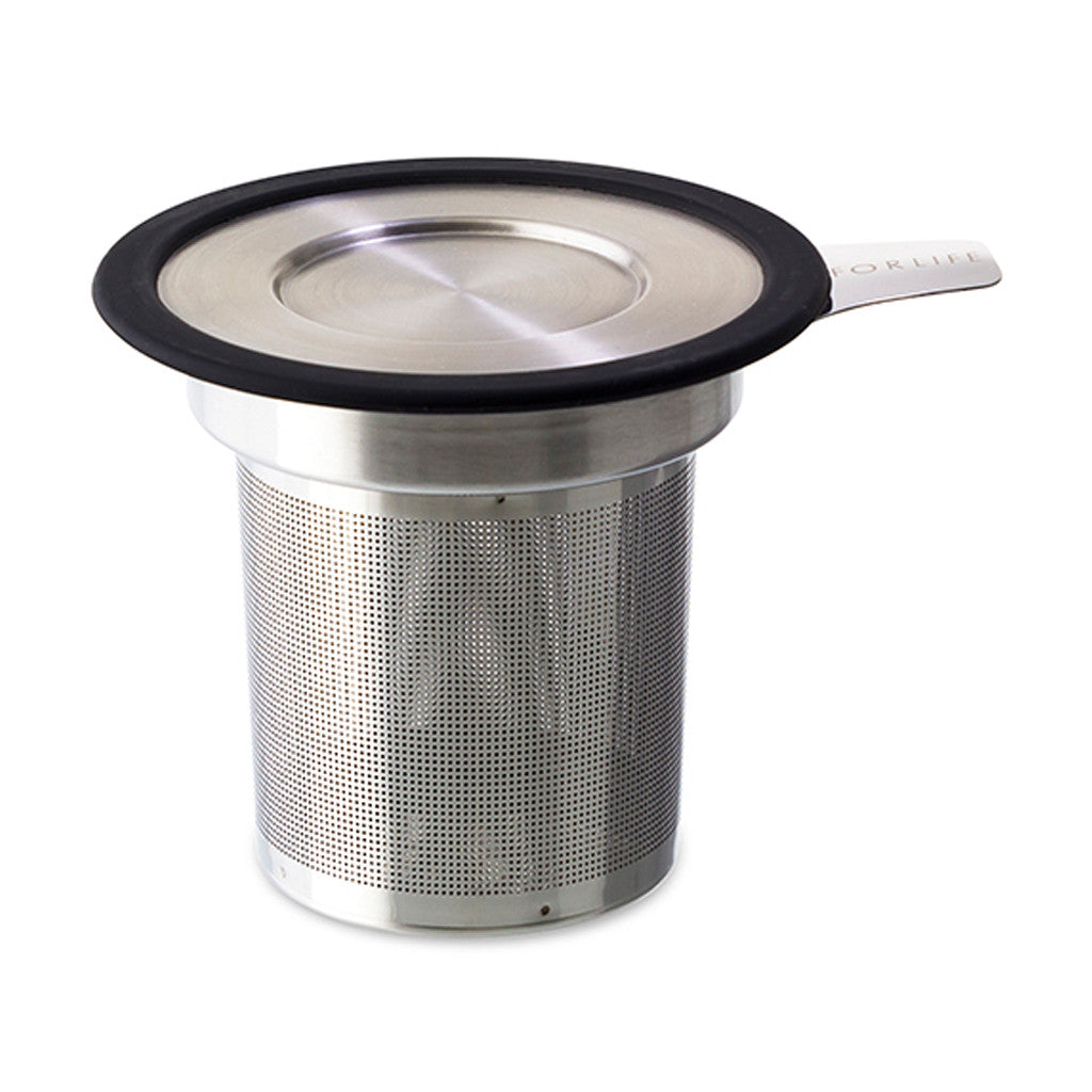 Brew-In-Mug Strainer with Lid