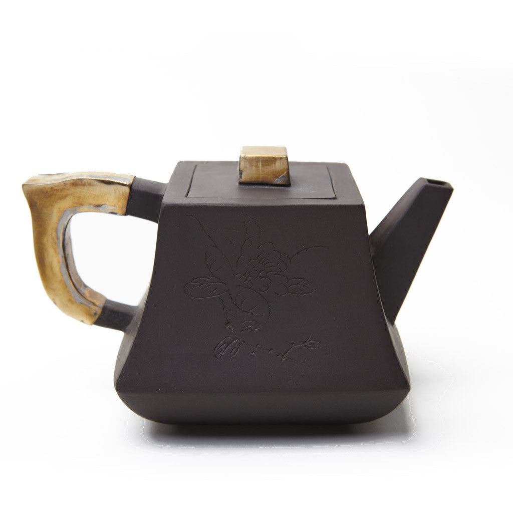 Copper Block 10oz Teapot