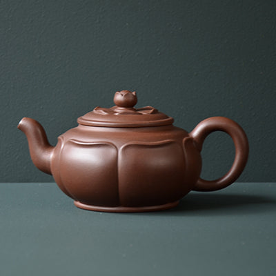 Double Lotus Yixing Teapot