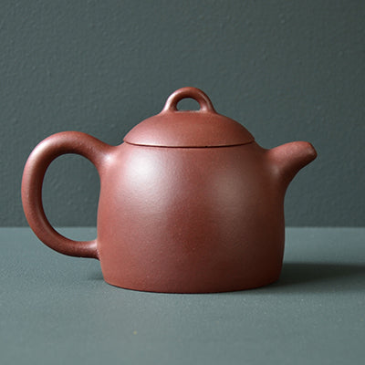 Tall Drum Yixing Teapot