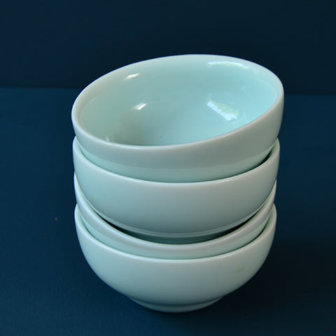 Celadon Wide-Mouth Teacups