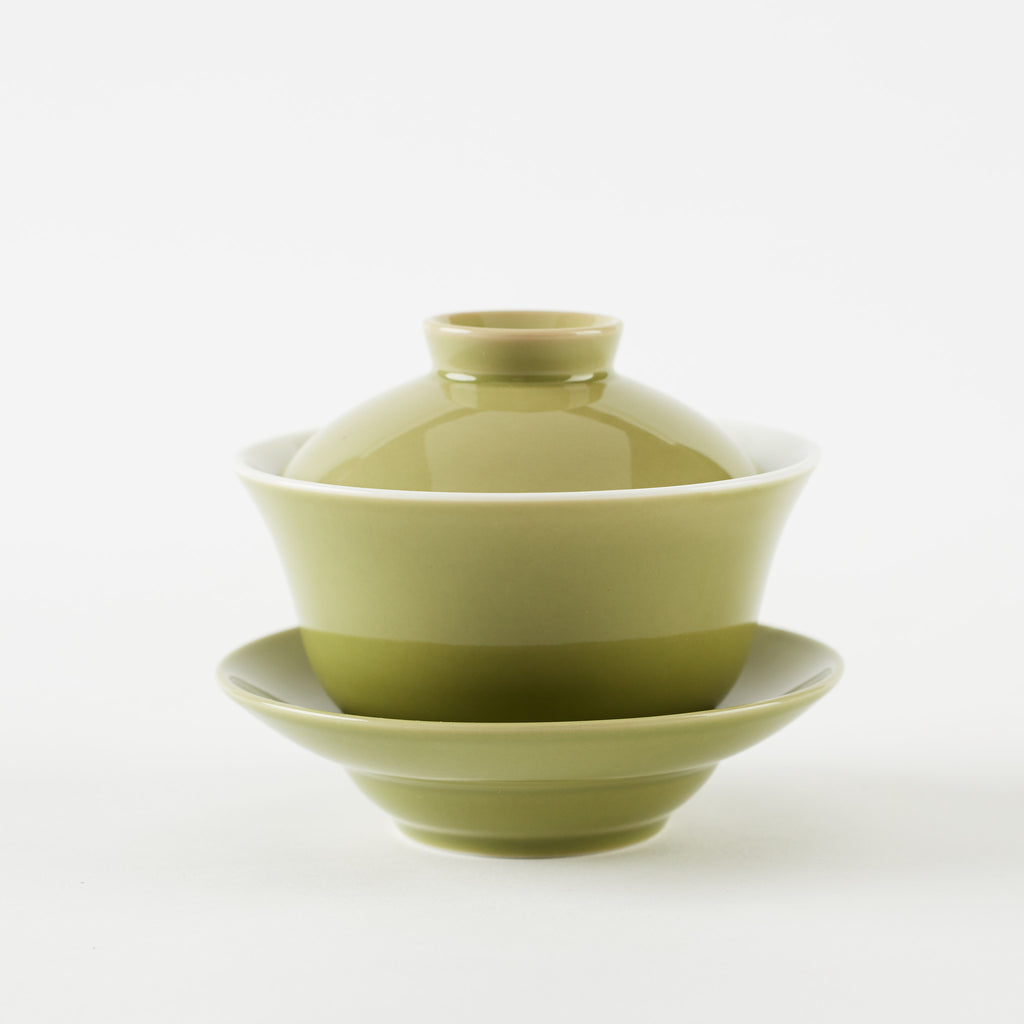 Green Poreclain Gaiwan
