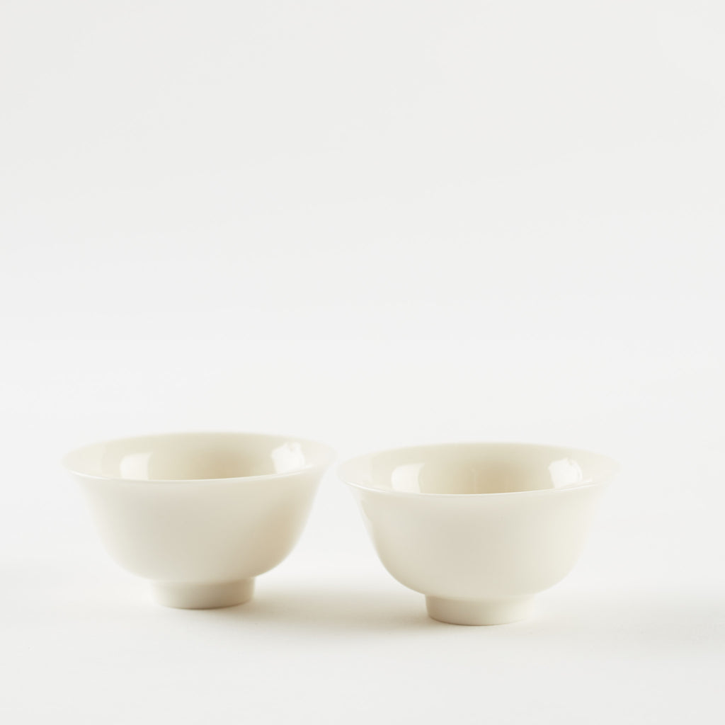 Small Fluted 'Gongfu' Cups