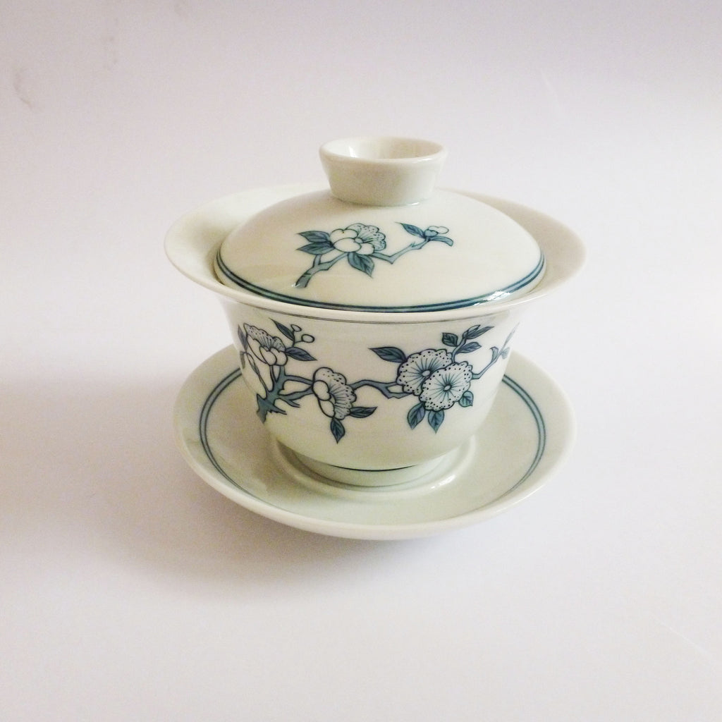 Hand Painted Blossom Gaiwan