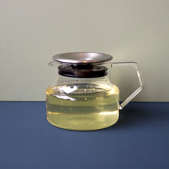 Cast Glass Teapot