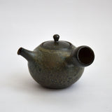 River Stone Glaze Teapot Side Handled Kyusu