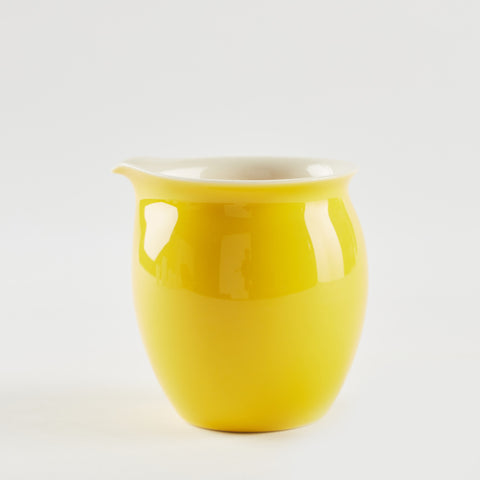 Yellow Glazed Porcelain Server