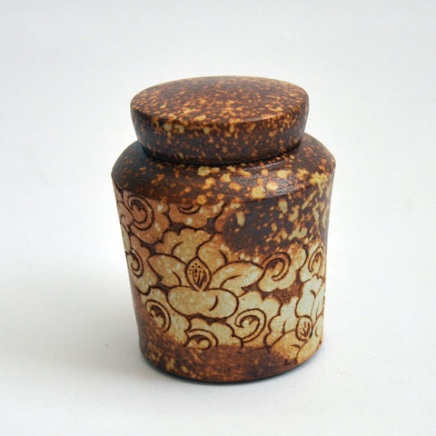 Carved Tea Jar