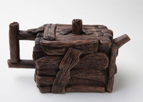 Wooden Log 8oz Teapot