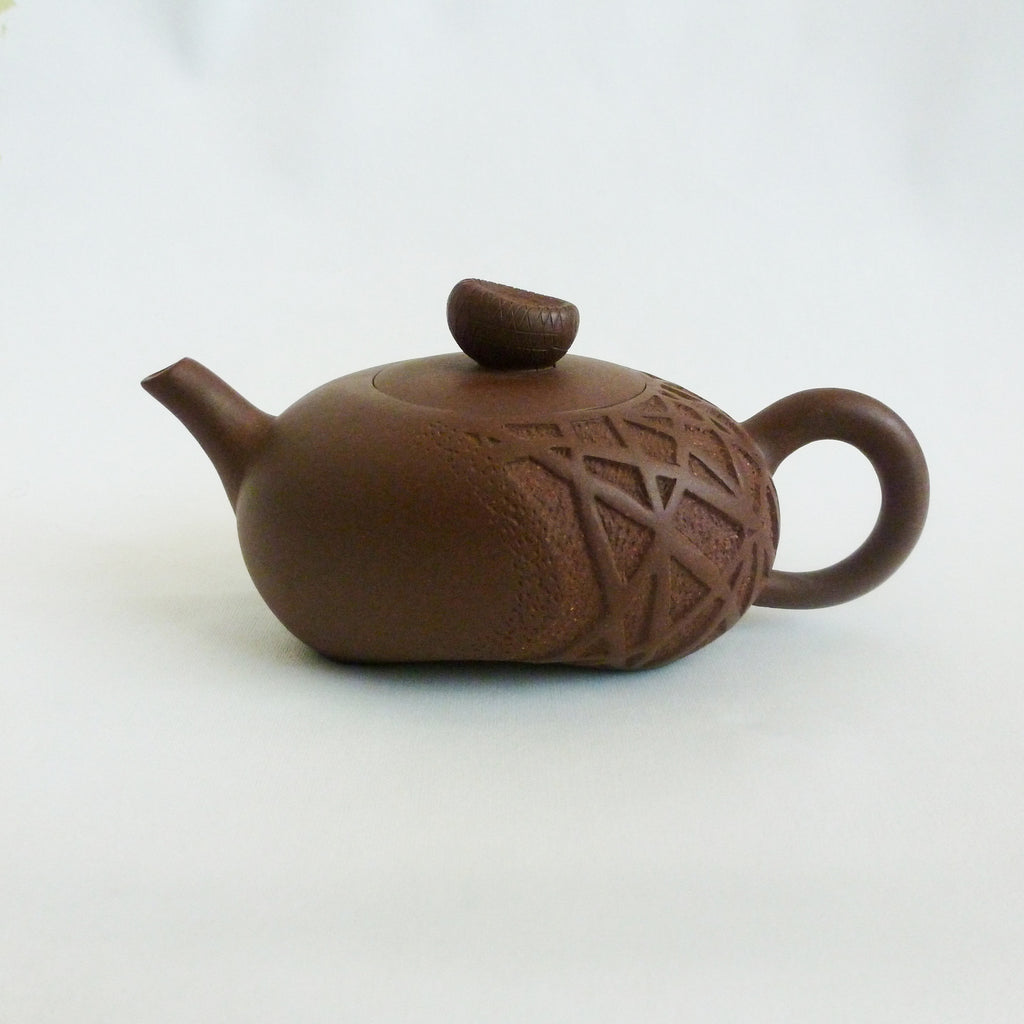 Handmade River Rock Yixing Teapot