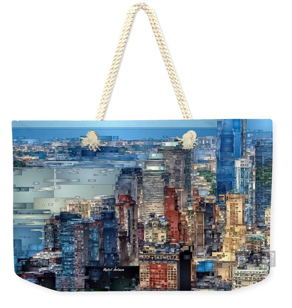 Weekender Tote Bag - Chicago. Illinois