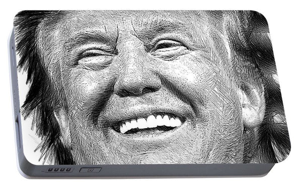 Portable Battery Charger - Donald J. Trump