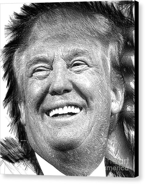 Canvas Print - Donald J. Trump