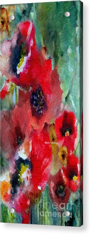 Acrylic Print - Flowers For You