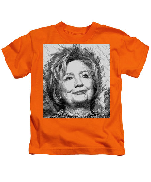 Kids T-Shirt - Hillary Clinton